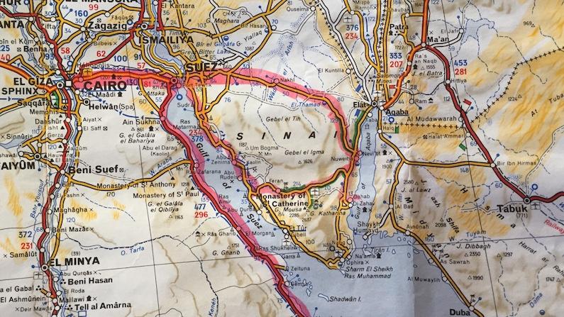 Three Visits to Dahab (Egypt)