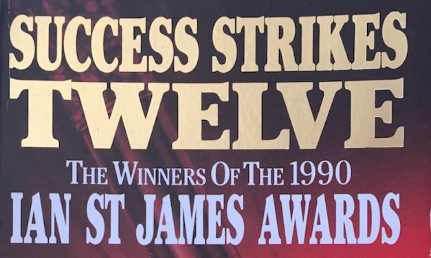 Thanks, Ian St James Awards