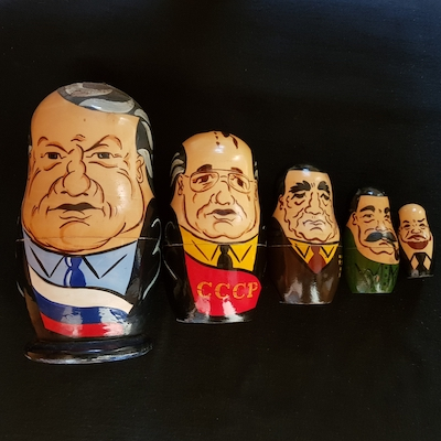 Russian Leaders dolls