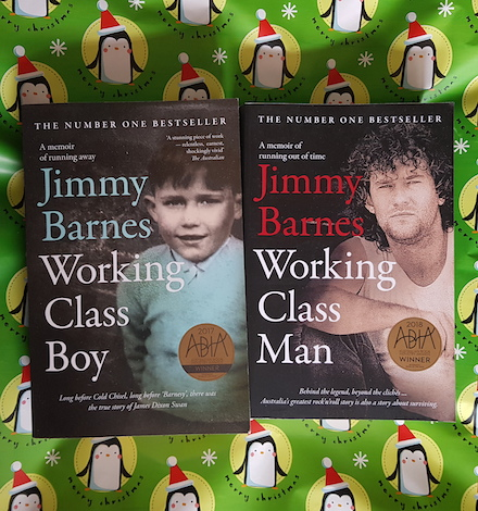 Working Class Boy/Man by Jimmy Barnes (book link)
