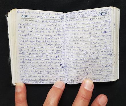 April 2012 Diary at Uluru