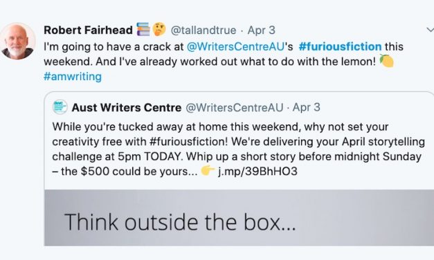 #FuriousFiction – Writers' Centre Competition