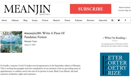 Meanjin Pandemic Fiction