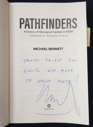 Pathfinders - signed by Michael Bennett-signed